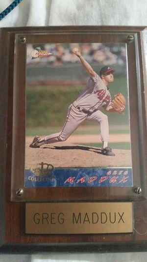 Greg Maddux & John Smoltz baseball card mounted for Sale in Lewisburg, TN