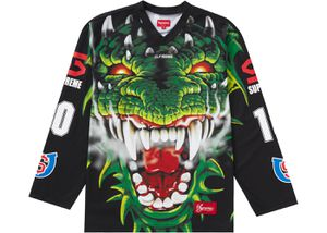 Supreme Dragon Hockey Jersey Black M for Sale in Lynnwood, WA