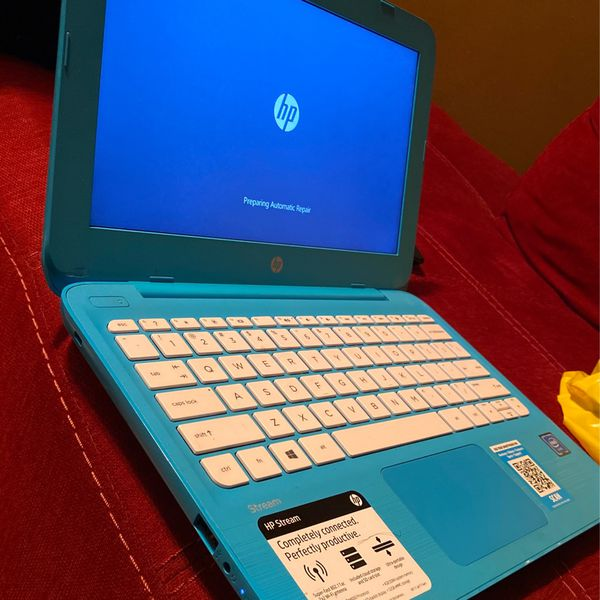 HP Laptop Turquoise