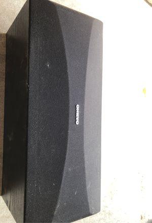 Onkyo center channel speaker for Sale in Denver, CO