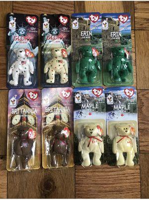 TY McDonald's Beanie Babies Rare Bears for Sale in Brooklyn, NY