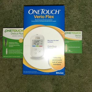NIB Diabetic Supplies, New Meter, Lancets, and Test Strips. for Sale in PA, US