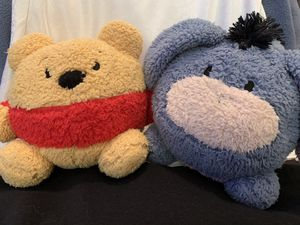 Pooh and Eeyore Plushies for Sale in Fresno, CA