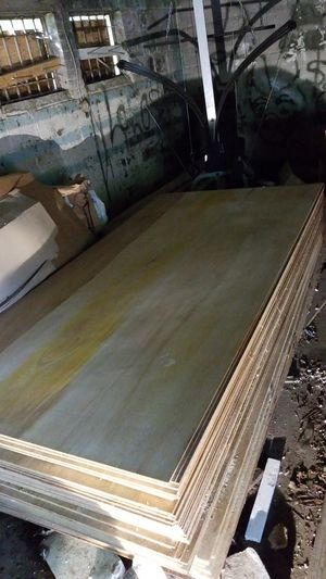 1/4 oak finished plywood for Sale in Takoma Park, MD