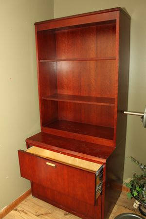 Bookshelf with Filing Drawers for Sale in Mt. Juliet, TN