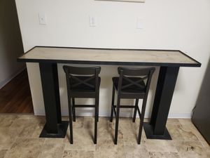 I Beam Bartop/ Breakfast Table for Sale in Stamford, CT
