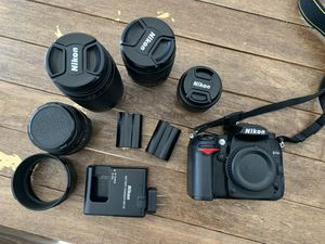 Nikon D7000 , 4 lenses and all accessories for Sale in Washington, DC