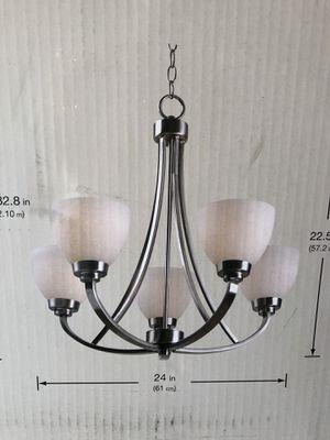 Hampton bay 5 light chandelier *Brand New* for Sale in Phoenix, AZ