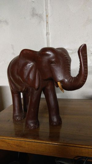 Hand carved elephant for Sale in Wichita, KS