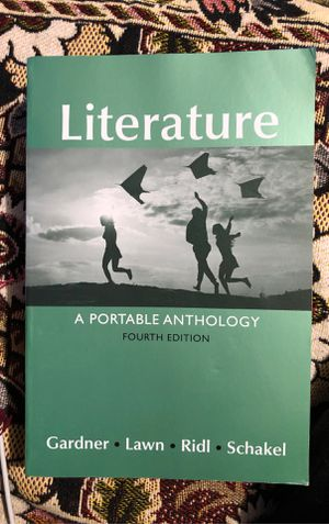Literature. A Portable Anthology BRAND NEW with receipt for Sale in Mountlake Terrace, WA