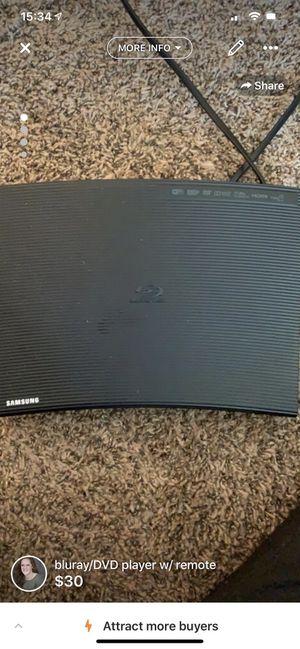DVD player w/ remote for Sale in Nashville, TN