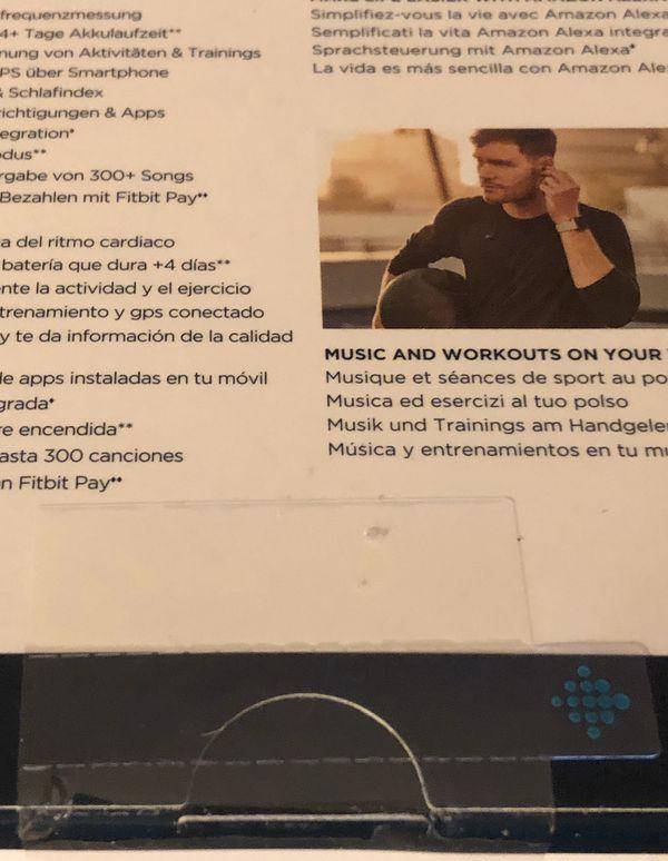 Fitbit Versa 2 Black classic band