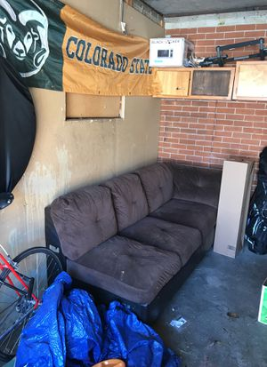 Sectional couch. Additional piece available. for Sale in Denver, CO