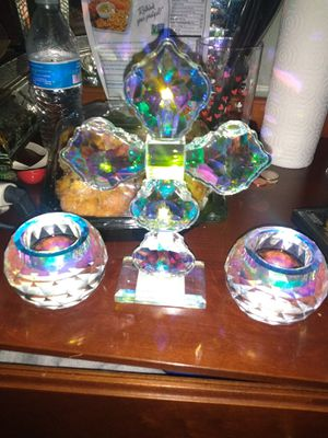 3 piece Candle Holder Set for Sale in Castroville, CA