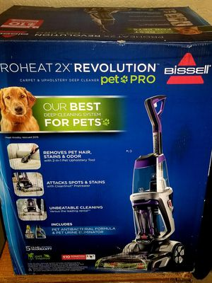 New in box Bissell Proheat 2x Revolution Pet Pro Carpet Upholstery Cleaner for Sale in Riverside, CA