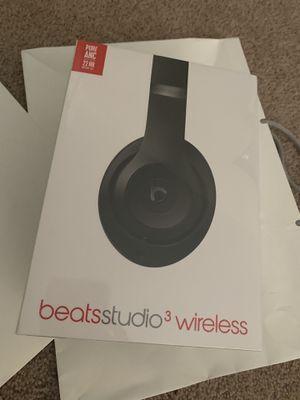 Beats studio 3 wireless headphones for Sale in TEMPLE TERR, FL