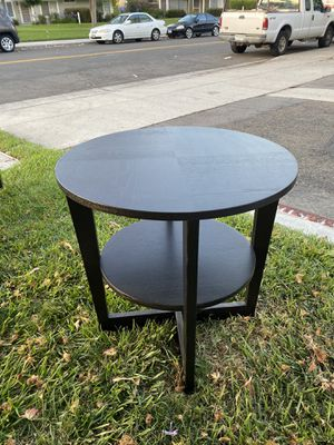 Black wood end table, good condition for Sale in Oceanside, CA