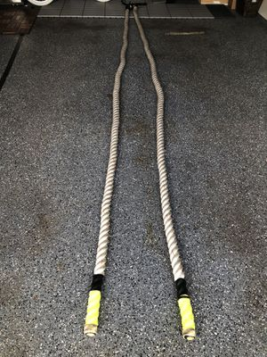 "Battle Ropes (Undulating ropes) for CrossFit in Your Home Gym - 2"" thick rope for Sale in Mill Creek, WA"