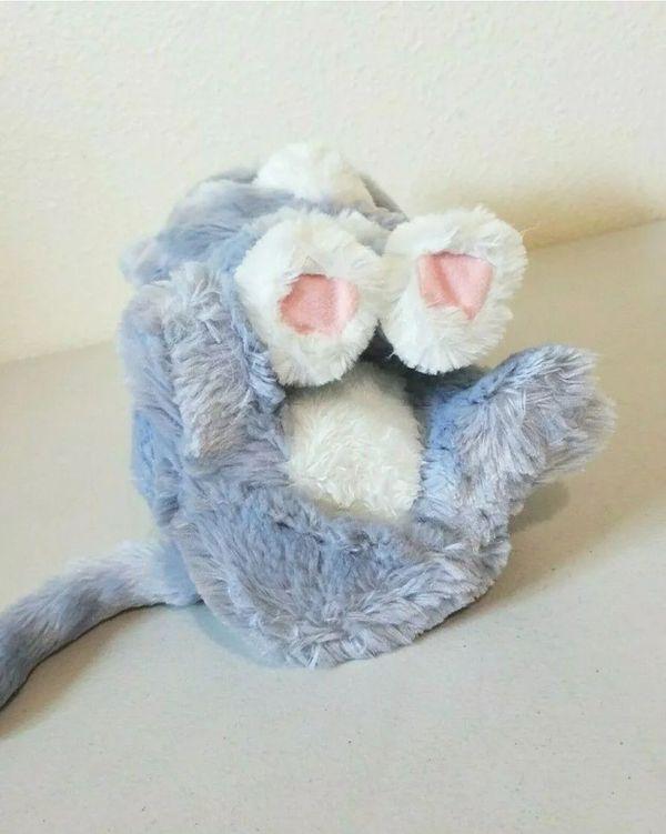 "Furreal Friends Bootsie Interactive Toy Kitty Cat Grey White Hasbro 12"" Purring"