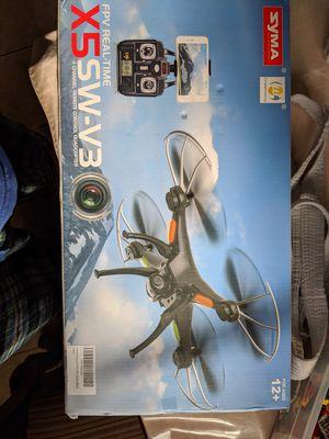 Drone camera smartphone control X5 sw v3 drone with camera for Sale in Laguna Niguel, CA