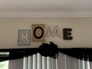 Wall Decor | H.O.M.E letters (Purchased from Etsy) Handmade for Sale in West Palm Beach, FL