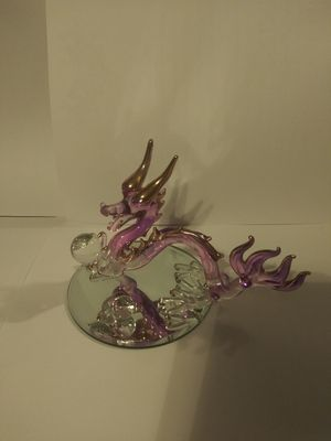 Dragon glass sculpture for Sale in Middleburg, FL