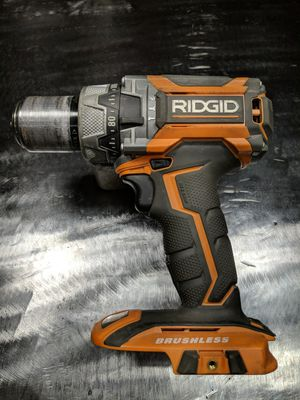 RIDGID 18-Volt Lithium-Ion Cordless Brushless 1/2 in. Compact Hammer Drill R86116 for Sale in Fort Worth, TX