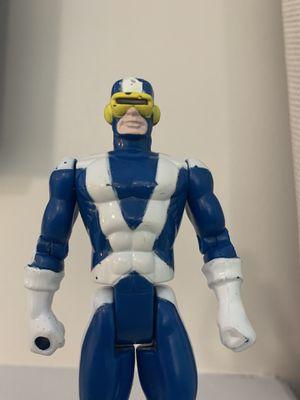 "X-MEN CYCLOPS Vintage Toy Biz Marvel Action Figure X-Factor 5"" 1991 for Sale in Fayetteville, NC"