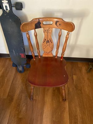 Wooden Chair for Sale in St. Louis, MO
