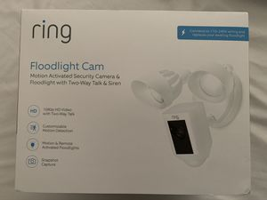 Ring Floodlight Camera for Sale in Fontana, CA