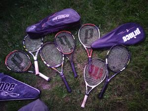 10 tennis racket s . Premium quality. for Sale in Warren, MI