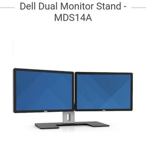 Dual dell monitor stand. MDS14A for Sale in Orlando, FL