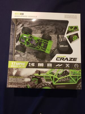 Power craze high speed RC mini car with controller for Sale in Sterling, VA