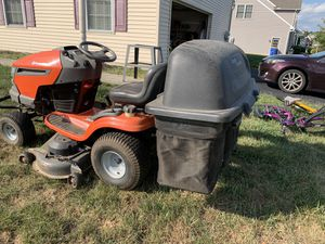 Triple bagger for riding mower for Sale in Manchester, PA
