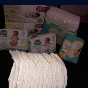 Newborn Diapers Bundle ! for Sale in Fresno, CA