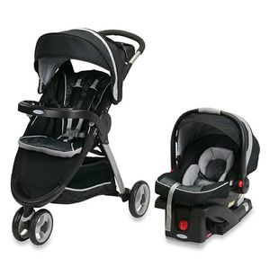 Brand New in the box Graco infant baby black stroller and carseat combo set for Sale in Henderson, NV