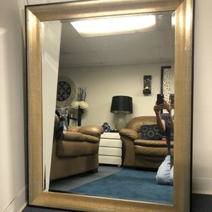 Wall mirror ( champagne color) for Sale in Old Bridge Township, NJ