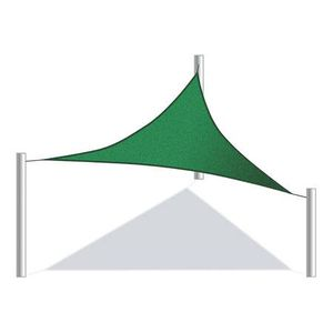 Triangular 10 X 10 X 10 Feet Waterproof Sun Shade Sail Canopy Tent for Sale in Kent, WA