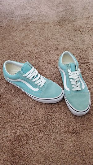 Womens Baby blue Van's NEVER USED for Sale in Stanton, CA