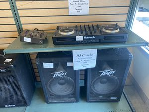 DJ set up pa/mixer board for Sale in Pflugerville, TX