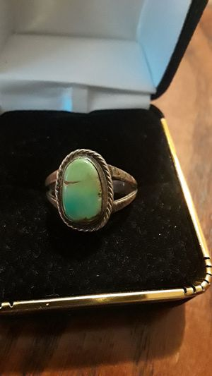 Gorgeous Sterling Silver 925 genuine stone ring. for Sale in New York, NY