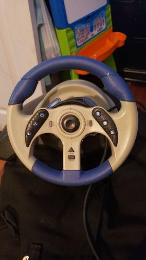 Mc2 racing wheel ps2 for Sale in Tiverton, RI