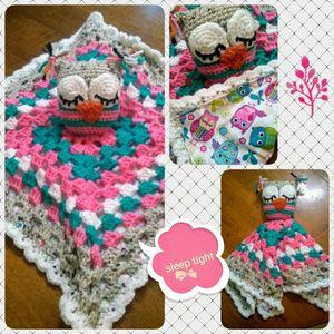 Crocheted Owl Baby Lovey for Sale in Petersburg, VA