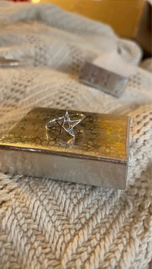 Sterling Silver Ring - 5 pointed star for Sale in Woodhull, IL