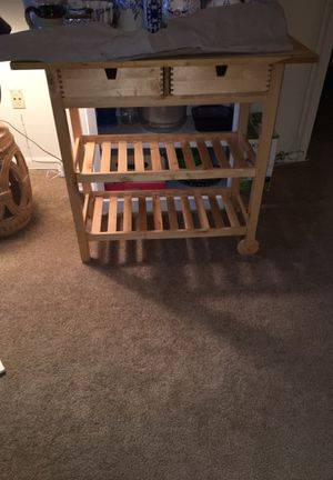 Ikea Kitchen Cart/ bar cart/ kitchen island for Sale in Bethesda, MD