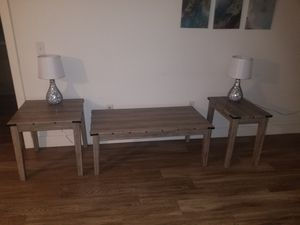 Coffee table and 2 side tables for Sale in Los Angeles, CA