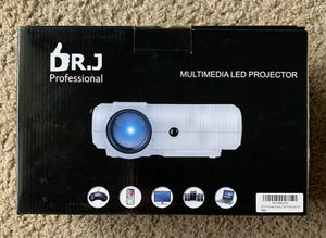 Multimedia LED Projector by Dr. J Professional for Sale in Presto, PA