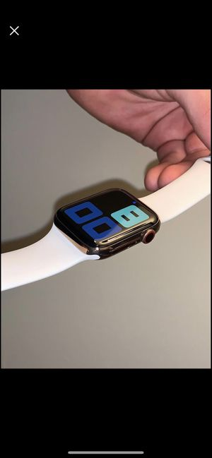 Apple Watch series 5 stainless steel for Sale in Carneys Point Township, NJ