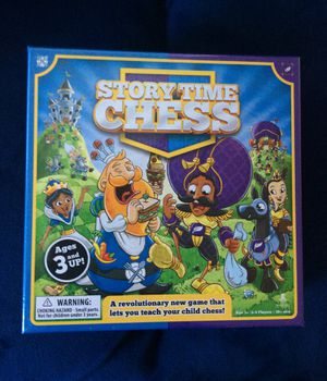 Story Time Chess: A new way to teach chess to kids 3+ for Sale in Austin, TX