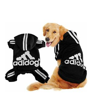 Scheppend Adidog Pet Clothes for Dog Cat Puppy Hoodies Coat Winter Sweatshirt Warm Sweater Dog Outfits for Sale in Bakersfield, CA
